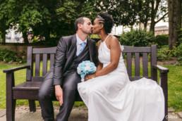 Bride and Groom at Hull Wedding